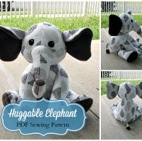 Huggable Elephant Plush