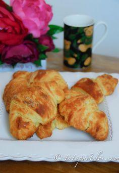 Croissants veganos (sin leche sin mantequilla)