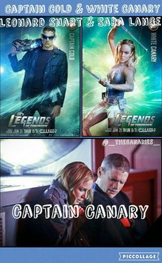 Oneshots for Leave suggestions in the comments! NOTE: I don't own Legends of Tomorrow or any of the characters. Captain Canary, Leonard Snart, White Canary, Justice League, Fanfiction, Comebacks, Squad, Arrow, Legends