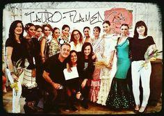 Photocall Tauro Flamenca, Diseñadora Marta Sanjosé Complementos