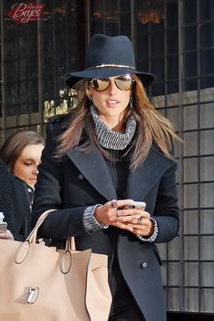 Alessandra Ambrosio seen out in Tribeca on FEBRUARY 25, 2015 in New York, NYC