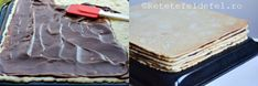 PRAJITURA CU FOI SI CREMA DE CACAO - Rețete Fel de Fel Gingerbread, Icing, Deserts, Food, Ginger Beard, Essen, Postres, Meals, Dessert