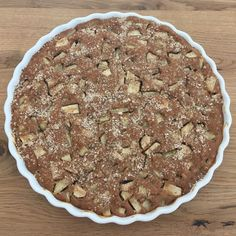 Sugar free, low fat apple pie Enjoyment is a must - Rezepte - # Healthy Cake, Vegan Cake, Healthy Baking, Low Carb Desserts, No Bake Desserts, Healthy Desserts, Healthy Drinks, Delicious Cake Recipes, Yummy Cakes