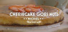 Cheescake goes Nuts, Heel Holland Bakt Sweet Bakery, Cheesecakes, Baked Potato, Camembert Cheese, Holland, Strawberry, Pie, Bread, Chocolates