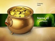 Pot of Gold Coins PowerPoint Template - http://www.youtube.com/watch?v=nyMRuyB0m7o