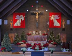 christmas church decorating ideas | Christmas Decorating Ideas For Church Sanctuary | Joy Studio Design ...