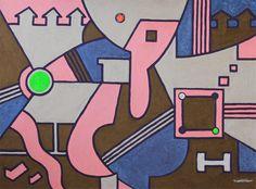 KORZH Taras, ESHNI, 2015, Acrylic on canvas, 100 x 75