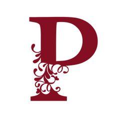 Silhouette Design Store - View Design #245827: flourish heart monogram - p