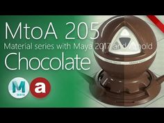 Making a Chocolate Shader With the New AiStandard in Arnold 5 - Lesterbanks