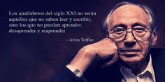 7 píldoras educativas de Alvin Toffler - http://www.academiarubicon.es/7-pildoras-educativas-alvin-toffler/
