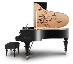 Bösendorfer Marquetry Series of Grand Pianos Inspired By 18th Century Vienna - like the one Drayco plays in DIES IRAE
