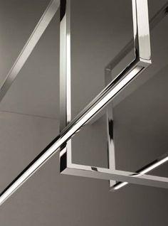 Venice M's Mondrian LED ceiling light fixture detail
