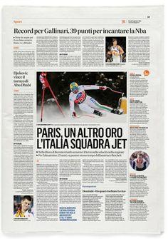 Redesign newspaper, Roma, Italy http://www.sergiojuan.com/