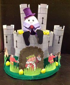 Handmade+Easter+Bonnet/Hat++Humpty+Dumpty+