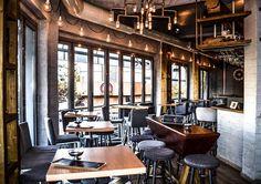 #interior #design #EpilisisStudio #industrial #cafe #bar