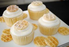Waffle Cupcakes Pictures, Photos, and Images for Facebook, Tumblr, Pinterest, and Twitter