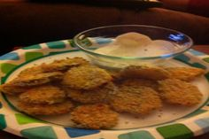 """Oven Baked """"Fried"""" Pickles. Photo by ssnyder1307_13038122"""