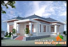 3d House Plans, Home Design Floor Plans, Kerala House Design, Unique House Design, Future House, My House, Steel Framing, One Storey House, Small Country Homes