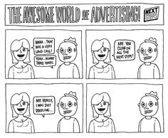 The Awesome World of Advertising: Conference Calls #funnycauseitstrue