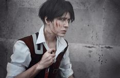 AMAZING cosplay ll Attack on Titan ll Special Operations Squad: Levi Ackerman by Dantelian