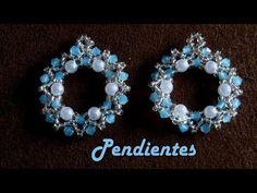 Diy Jewelry, Jewelery, Handmade Jewelry, Jewelry Making, Beading Patterns Free, Beaded Jewelry Patterns, Twin Beads, Beaded Brooch, Bead Earrings