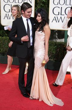 Young love on the red carpet: Vanessa Hudgens and Zac Efron