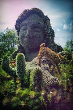 Plant Sculptures Mosaicultures Internationales de Montréal 2013_2