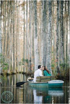 Cypress Gardens, Charleston, SC engagement session! - Photo by Aaron Nicholas Photography, destination wedding photographer based in Charles...