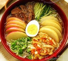 Yanji cold noodles  http://www.chinabevnews.com/2015/08/which-is-your-favorite-chinese-noodle.html