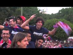 Vuelve #ATMINSIDER, el Atlético de Madrid desde dentro. Nos colamos en la celebración de la Supercopa de Europa 2012 del equipo. ;)