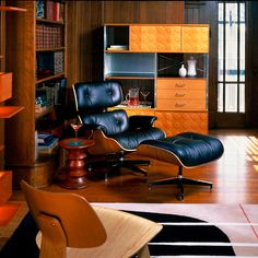 Recliner Chairs - Eames Lounge Chair - New Classic Home Furnishings