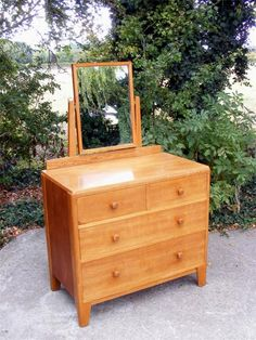 Saved Listings 4 Drawer Dressing Table, Dressing Tables, Antiques Online, Wooden Handles, Dressers, Wardrobes, Ash, Vanity, Construction