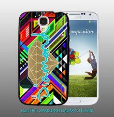 Diamond Supley Grapic Geometric - For Samsung S4 i9500 Black Case