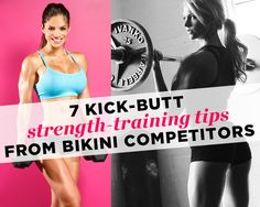 7 Kick-Butt Strength-Training Tips from Bikini Competitors - Photo by: LHGFX Photography / Paul Buceta http://www.womenshealthmag.com/fitness/strength-training-tips-from-bikini-competitors?ocid=soc_Pinterest_Fitness_July14_bikinicompetitorsstrengthtraining