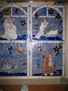 Cats - Delphi Stained Glass