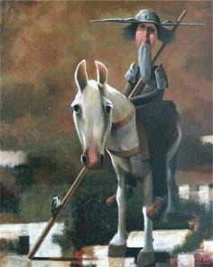 Pinzellades al món: Quixot il·lustrat / Quijote ilustrado / Don Quixote illustrated