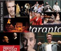 Taranto / La stagione teatrale del Comune organizzata dal Teatro Pubblico Pugliese