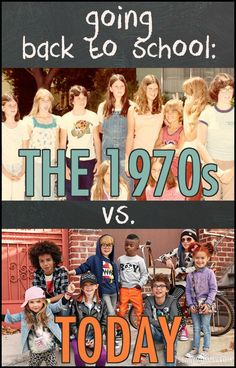 Things sure have changed for moms - and it's hilarious! See the differences between back to school prep in the 1970s versus today on Scary Mommy! parenting humor | motherhood | funny lists