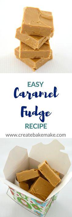 Caramel Fudge Recipe