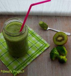 Brokkoli banán kivi turmix | Pálmafa Project Curry, Kiwi, Drinks, Ethnic Recipes, Drinking, Curries, Beverages, Drink, Beverage