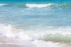 Ocean Waves photograph 8x12 Beach art by AnaPontesPhotography.