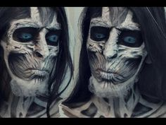 Game of Thrones White Walker Makeup - Absolutely indcredible!!
