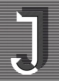 J #type #design #typography