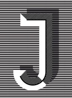J #type #design #typography