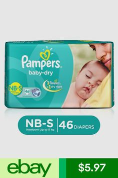 Pampers Unisex Newborn Baby Disposable Diapers for sale Washing Machine Cleaner, Diaper Brands, Newborn Diapers, Disposable Diapers, Toddler Boys, Abs, Unisex, Diapering, Shopping