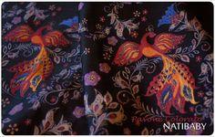 Natibaby PAVONE COLORATO Wrap (linen) - About Wrap | Reviews, FSOT