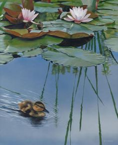 Terry Isaac Realistic Wildlife Paintings