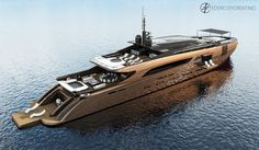 Federico Fiorentino rivela il nuovo concept superyacht di 50M - Sailbiz
