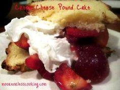 Cream Cheese Pound Cake by heather