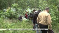 Cheb: Krajinnou výstavu přiblížila zájemcům procházka územím (TV Západ)